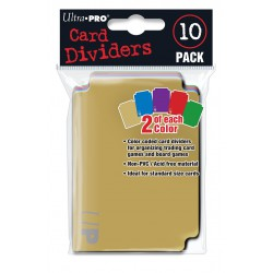 Ultra Pro Card Dividers Pack x10
