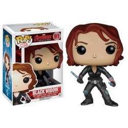 Black Widow Funko Pop Avengers 2 Age of Ultron Black Widow 91