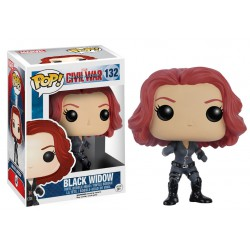 Black Widow Funko Pop Captain America 3 Civil War Black Widow 132