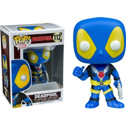 Deadpool Funko Pop Deadpool Thumbs Up X-Men Costume 112