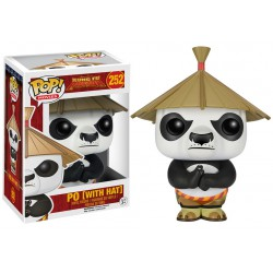 Po (with Hat) Funko Pop Kung-Fu Panda Po (with Hat) 252