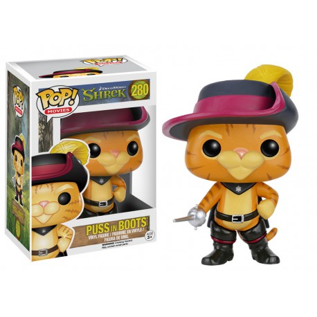 Puss in Boots Funko Pop Kung-Fu Panda Puss in Boots