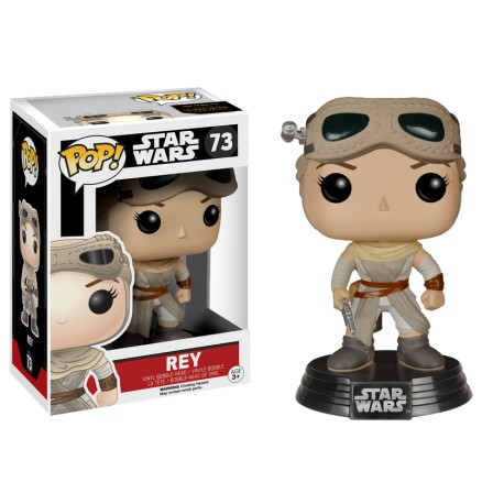 Rey with Goggles Funko Pop Star Wars EP VII Rey with Goggles Exclusive Limited