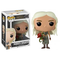 Daenerys Targaryen Mother's Dragons Funko Pop Game of Thrones Daenerys Targaryen 03