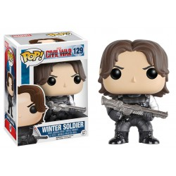 Winter Soldier Funko Pop Captain America 3 Civil War Winter Soldier 129 129