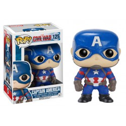 Captain America Funko Pop Captain America 3 Civil War Captain America 125