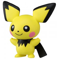 Pichu - Figurines Pokémon Monster Collection Pichu MC.046