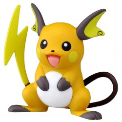 Raichu - Figurines Pokémon Monster Collection Raichu MC.047