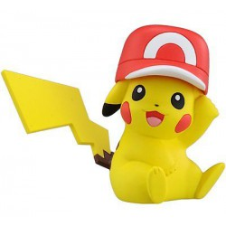 Pickachu Satoshi's Hat Ver - Figurine Pokémon Monster Collection Pickachu Satoshi's Hat Ver MC.069