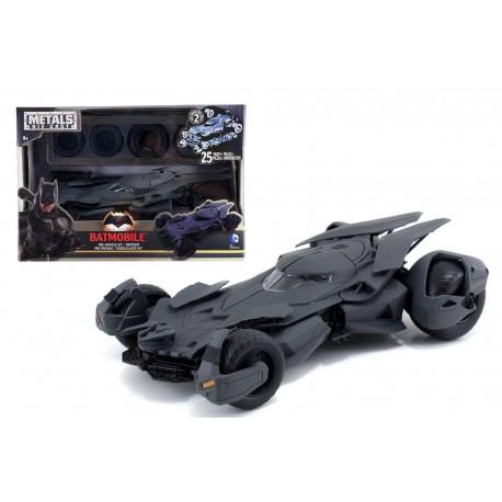 Batmobile Metals: Batman vs Superman - Batmobile Pre-Painted Kit Die Cast
