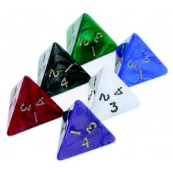 D4 - 4 Sided Pearl Dice