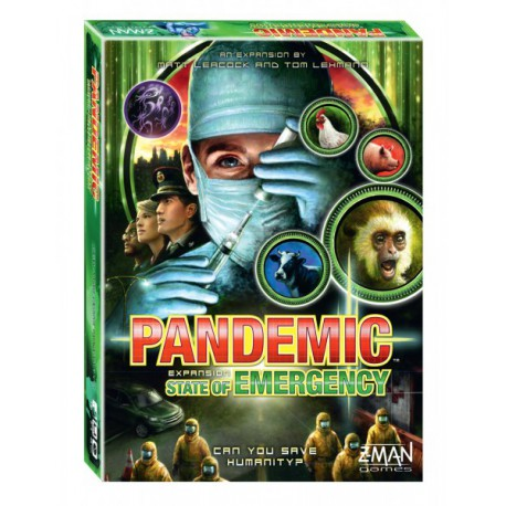 Pandemic - State of Emergency - 3rd expansion