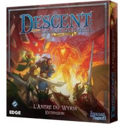Descent Voyages dans les Ténèbres Seconde Edition L'antre du Wyrm Extension (f)