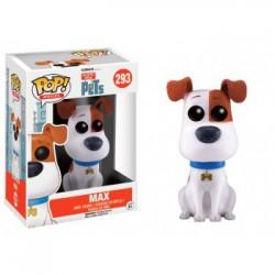 Max Flocked Funko Pop The Secret Life Of Pets - Comme des bêtes Max Fibre Textile 293