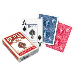 Cartes à jouer Bicycle Prestige 100% en plastique Poker