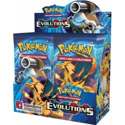 XY12 Boite de 36 Boosters Pokemon Evolutions (FR)