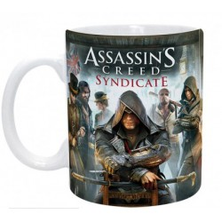 Mug Assassin's Creed Jaquette - Jacob, Evie et les Rooks (320ml)