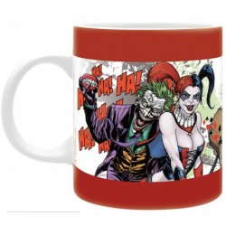Mug DC Comics Forever Evil Harley Queen & Le Joker (320ml)