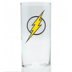 Glass DC Comics Flash Emblem