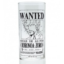Glass One Piece Zoro Wanted