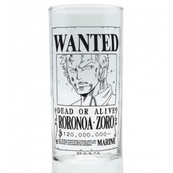 Glass One Piece Zoro Wanted