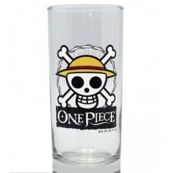 Verre One Piece Skull Luffy Emblème de l'équipage du chapeau de paille
