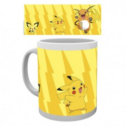 Mug Pokémon Pikachu Evolve (Evolutions) (300ml)