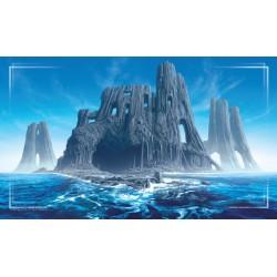 John Avon Art - Tapis de Jeu (Playmat) - Farway Island