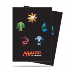 Pochettes Ultra PRO Symboles Magic Mana v5 (x80)