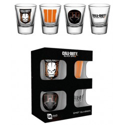 Verre à liqueur Call of Duty Black Ops III Set 4 verres à liqueur