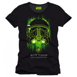 T-shirt Star Wars Rogue One Death Trooper Face