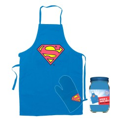 Tablier avec Gant Logo Superman