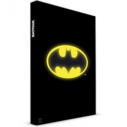 Batman Light Up Notebook Cahier Lumineux Batman Logo