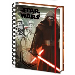 Cahier à Spirale Star Wars Kylo Ren & Troopers (A5)