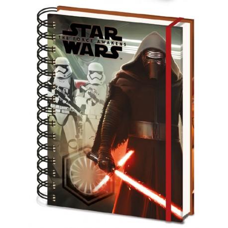 Star Wars Kylo Ren & Troopers Notebook (A5)