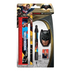 Batman vs Superman Stationery Set