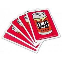 Cartes à jouer The Simpsons Duff Beer (54 cartes)