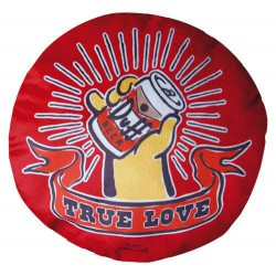The Simpsons Pillow - Duff Beer True Love Pillow