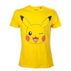 T-Shirt Pokemon Pikachu Winking