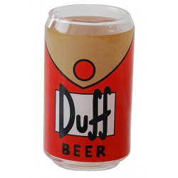 The Simpsons Pack de 6 Verres Duff Beer