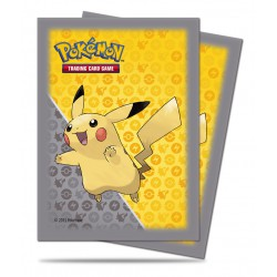 Pochettes Pokemon Pikachu Grey Deck Ultra Pro (x65)