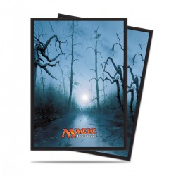 Mana 5 Swamp by John Avon Ultra Pro Standard Sleeves (x80)
