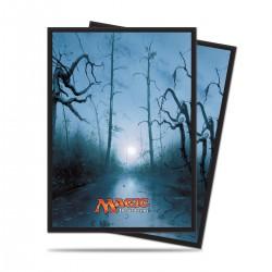 Pochettes Swamp (Marais) Mana 5 par John Avon Ultra Pro (x80)