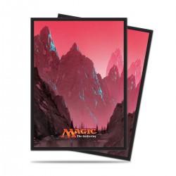 Pochettes Mountain (Montagne) Mana 5 par John Avon Ultra Pro (x80)