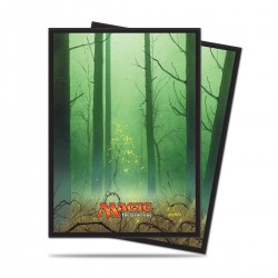 Mana 5 Forest by John Avon Ultra Pro Standard Sleeves (x80)