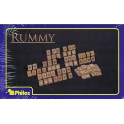 Rummy Pièces en Bois (Multi)