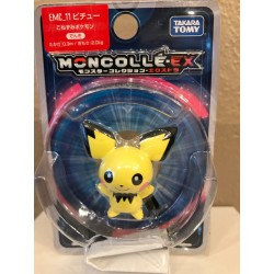 Pichu - Figurine Pokémon Mocollé Monster Collection Pichu EMC.11
