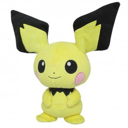 Peluche Pichu Pokémon (18cm)