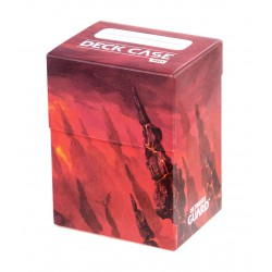 Basic 80+ Deck Case Lands Edition Mountain Ultimate Guard (Montagne)
