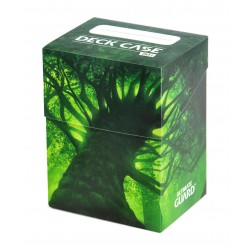 Basic 80+ Deck Case Lands Edition Forest Ultimate Guard